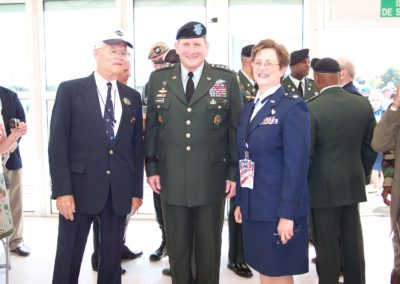 FK, LTC Katherine Tucker (my sister) and General Schoomaker, US Armt Chief of Staff