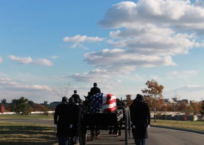 FLK Ceremony and Procession to Collumbarium at Arlington National Cemetery