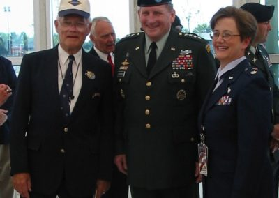 FLK and General Schoomacher with LTC K. Tucker at Normany 60th Anniversary.jpg pic 3