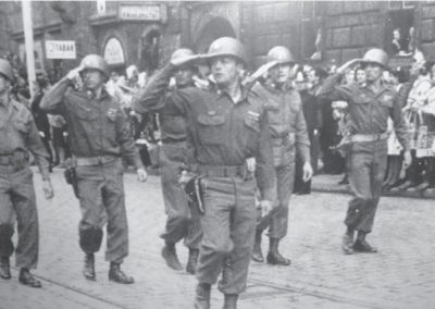 General Patton's Parade in Pilsen May 1945
