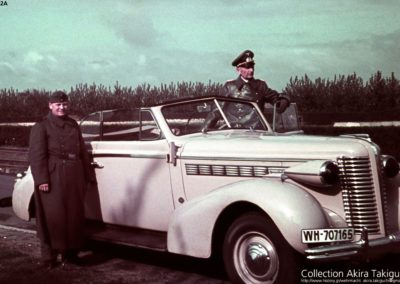 General Rabingen with 1938 Buick series 60 Special