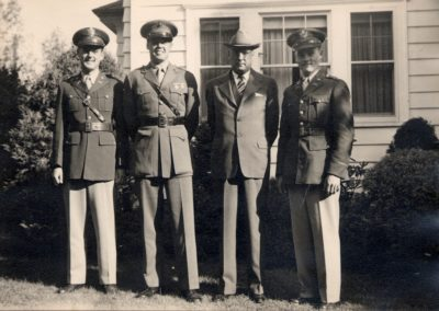 Kennard Men WW II reunited in Montclair NJ