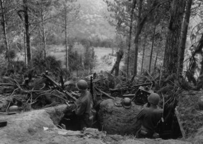 D Day Journal Hurtgen Forest 2 (large foxhole with soldiers)